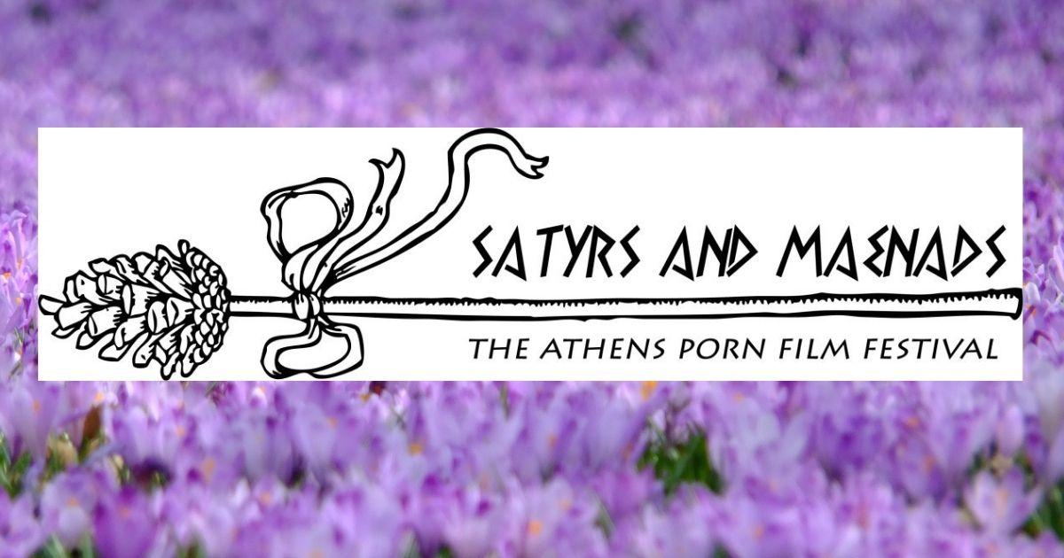 "Logo for ""Satyrs and Maenads"" Athens Porn Film Festival"