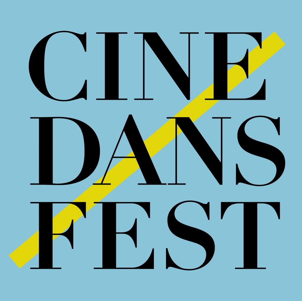 Logo for Cinedans dance festival Amsterdam