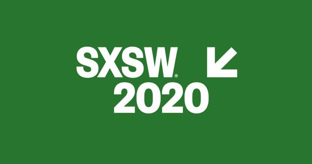 SXSW 2020 festival and conference logo