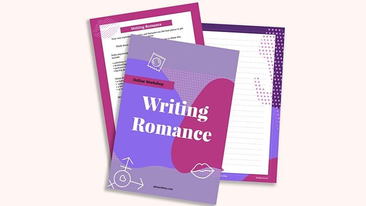 Almaz Ohene workshop - Writing Romance