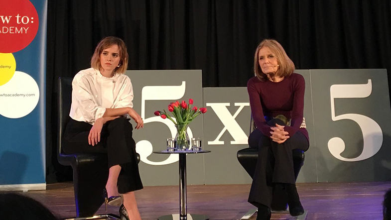 Emma Watson and Gloria Steinem discuss alternative porn and feminism