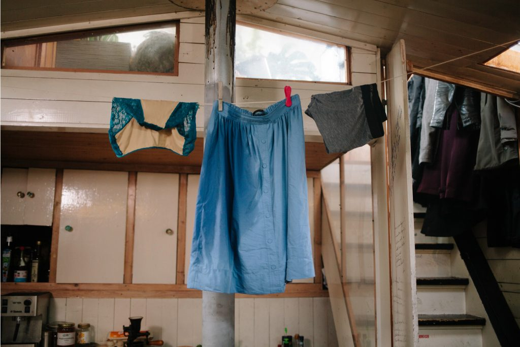 second-date-vr-virtual-reality-bts-erotic-film-wardrobe-clothes-hanging-houseboat1