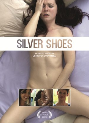 Poster from the erotic film Silver Shoes directed by Jennifer Lyon Bell of Blue Artichoke Films